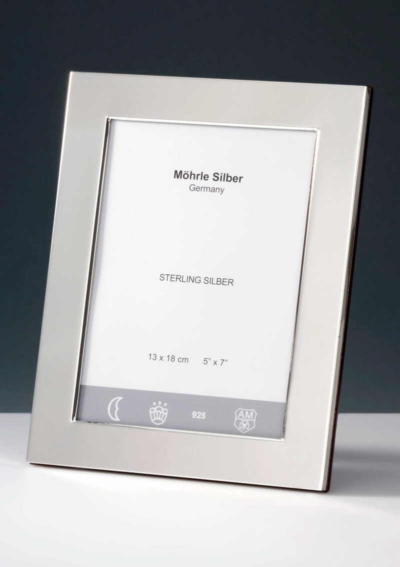 """Picture frame silver 925 """"100""""   Möhrle Silver Germany"""