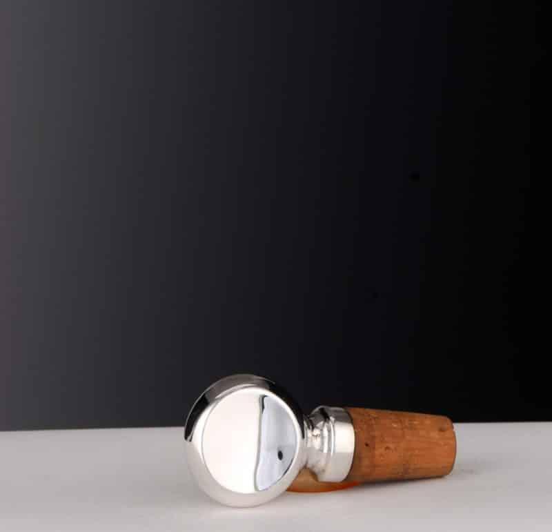 "Bottle cork ""12922"" made of 925 silver | Möhrle Silber Germany"