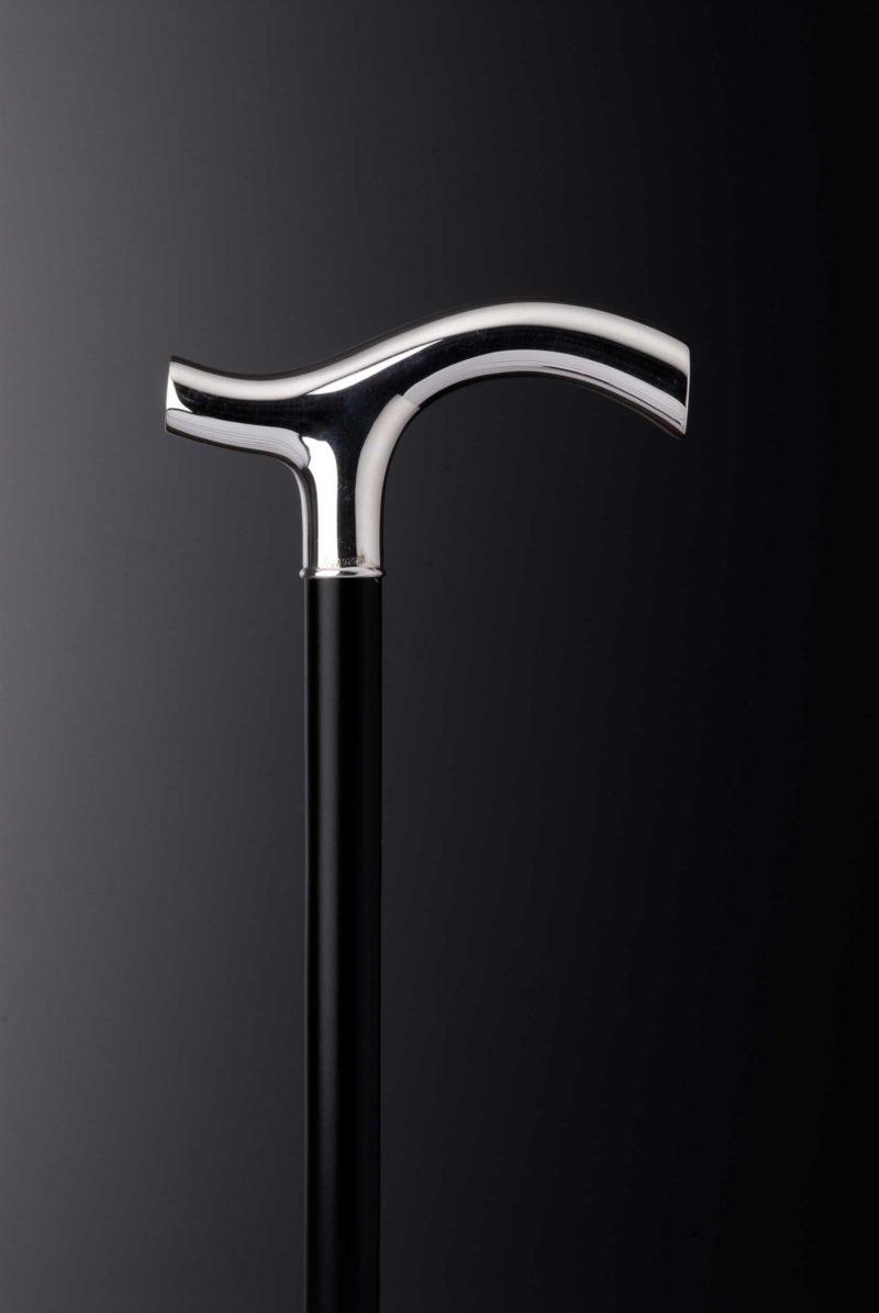 "Walking stick crutch ""348"" smooth | Möhrle Silver Germany"