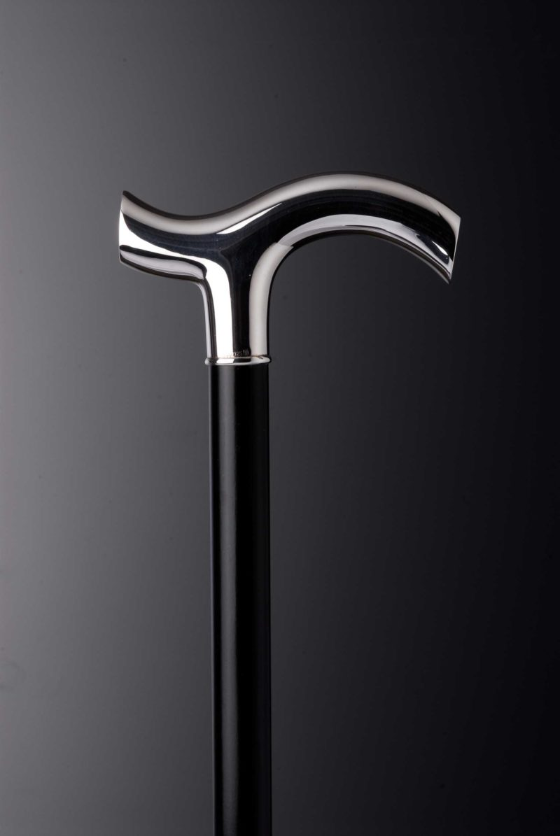 """Walking stick crutch """"5163"""" with engraving plates 