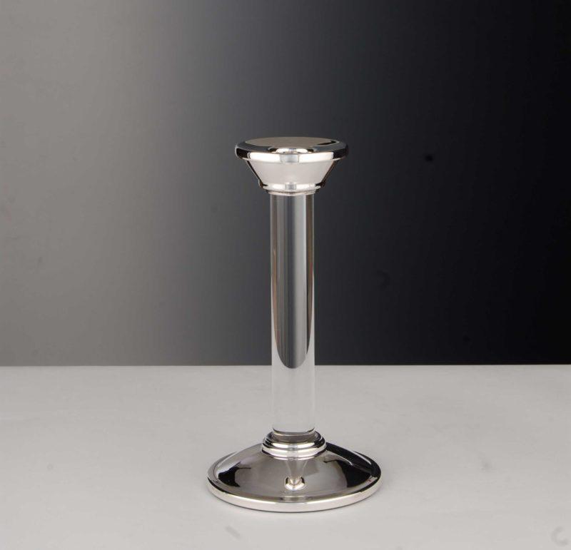 "Candlestick silver 925 ""14453"" crystal   Möhrle Silber Germany"