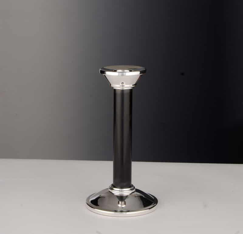 "Candlestick silver 925 ""14453"" ebony   Möhrle Silber Germany"