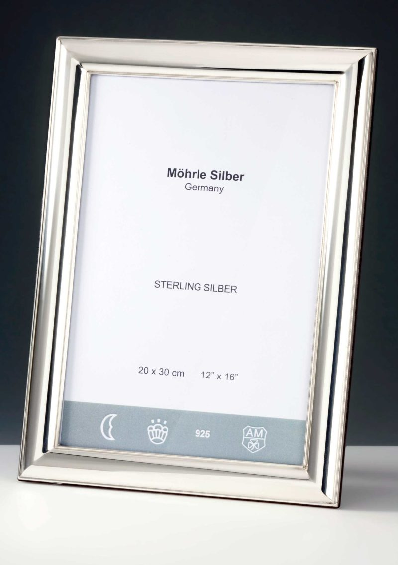"""Picture frame silver 925 """"520""""   Möhrle Silber Germany"""