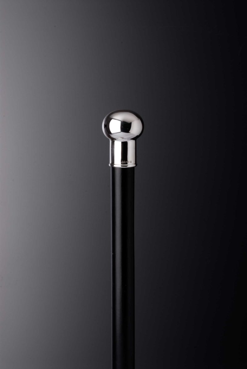 "Walking Stick Gents Silver Knob ""8723"" | Möhrle Silber Germany"