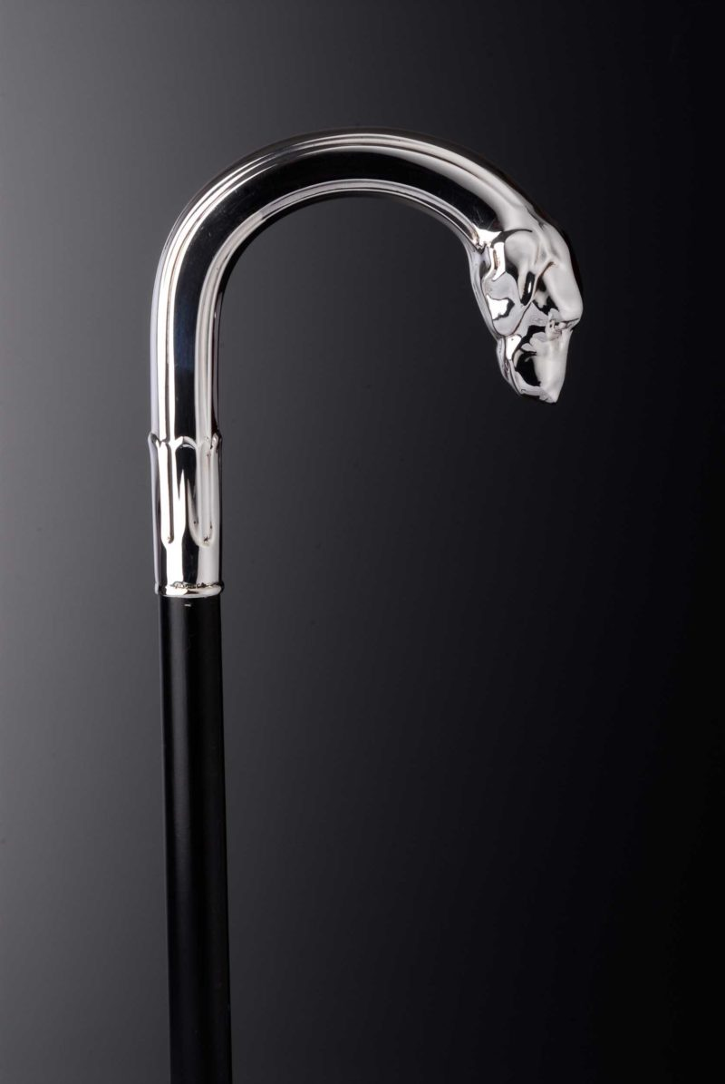"Walking Stick Silver ""Pointer"" 5574 | Möhrle Silber Germany"