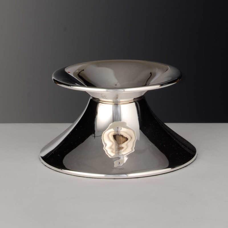 "Candlestick for baptism ""Christening candlestick smooth""   Möhrle Silber Germany"