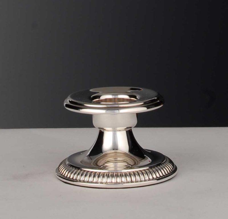 "Smoke candlestick / christening candlestick 925 silver ""Louis XIV""   Möhrle Silber"