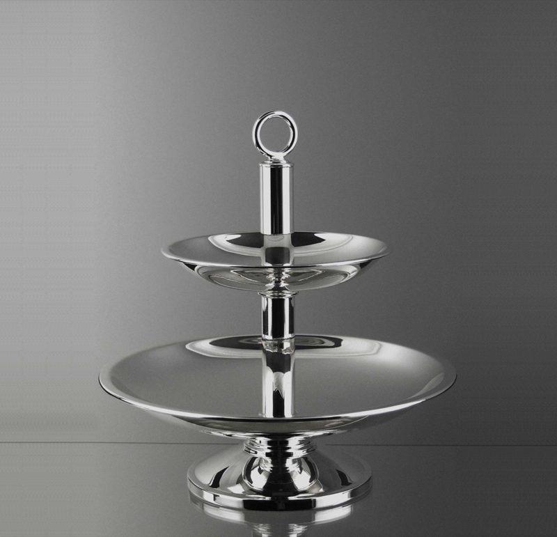 "Etagère ""14482"" Bauhaus 925 Sterling Silver   Möhrle Silver"