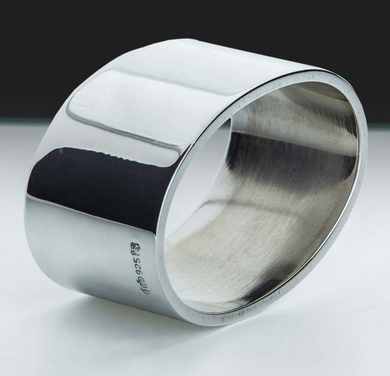 "Napkin Ring Oval ""14512 | Möhrle Silver Germany"