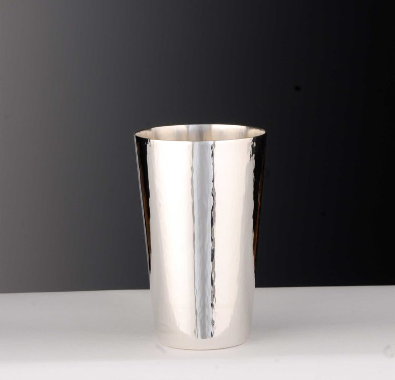 """Cup silver 925 """"10860"""" hammer blow 