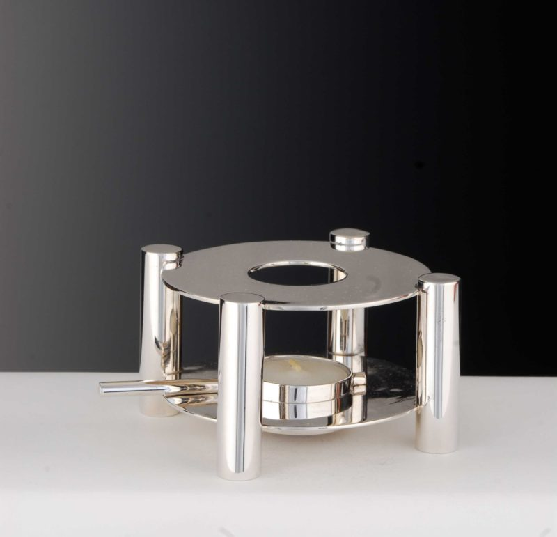"Teapot warmer Bauhaus ""14476"" | Möhrle Silver Germany"