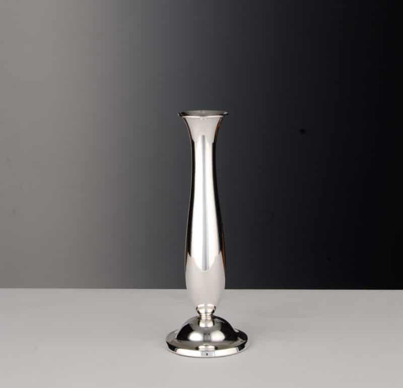 "Vase ""13190"" Smooth 925 Sterling Silver   Möhrle Silber Germany"